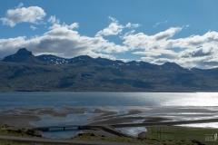 Blick über Berufjörður (Austfirðir)