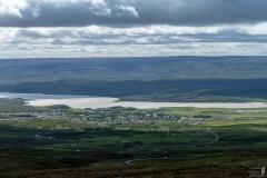 Blick auf Egilsstaðir